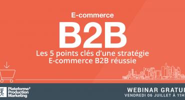 Webinar E-Commerce B2B - Réussir sa stratégie E-Commerce