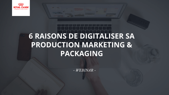 6 RAISONS DE DIGITALISER SA PRODUCTION MARKETING & PACKAGING
