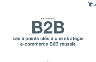 Les bonnes pratiques pour réussir sa stratégie e-commerce B2B