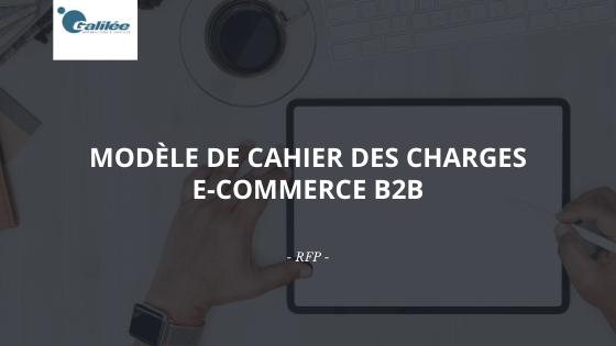 Modèle de cahier des charges E-Commerce B2B pour réussir son projet