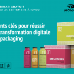 3 points clés pour réussir la transformation digitale du packaging