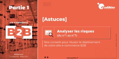 Réussir le déploiement de son site e-commerce B2B : analyser les risques - Partie 1 (du 1 au 7)