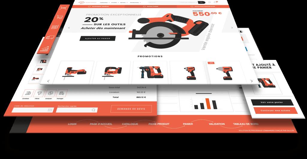 Créez votre site e-commerce B2B