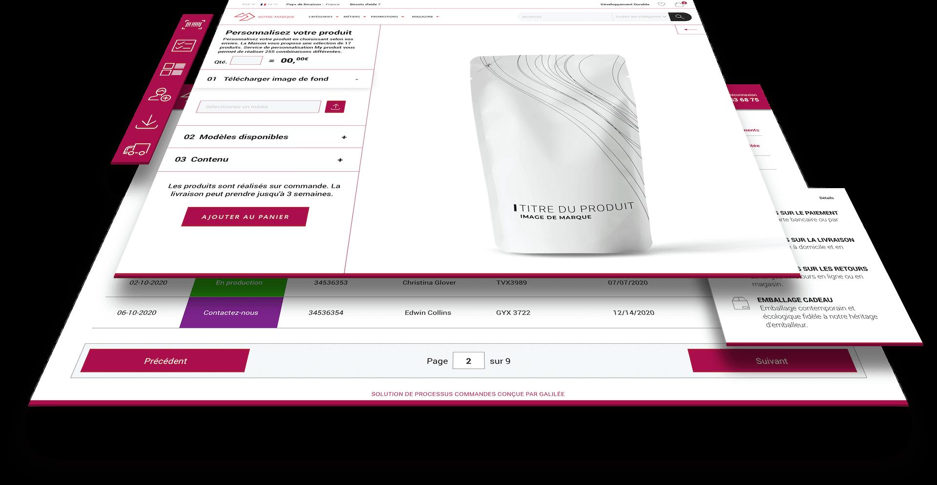 Personnalisez vos offres et digitalisez votre gestion de production grâce au web-to-print