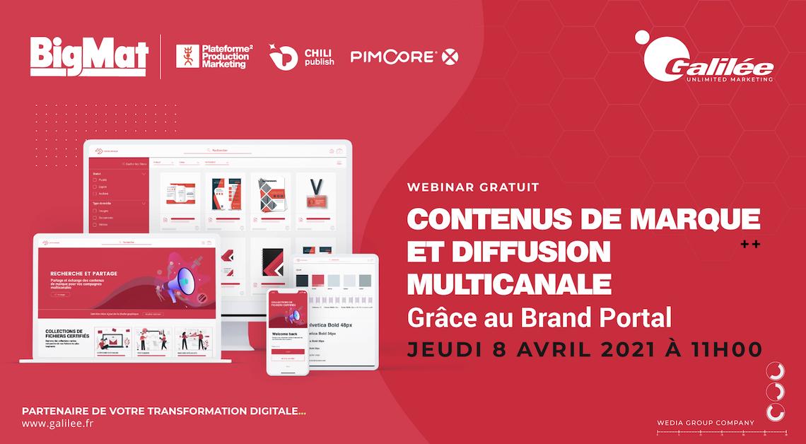 Gestion de contenus de marque et diffusion multicanale grâce au Brand Portal