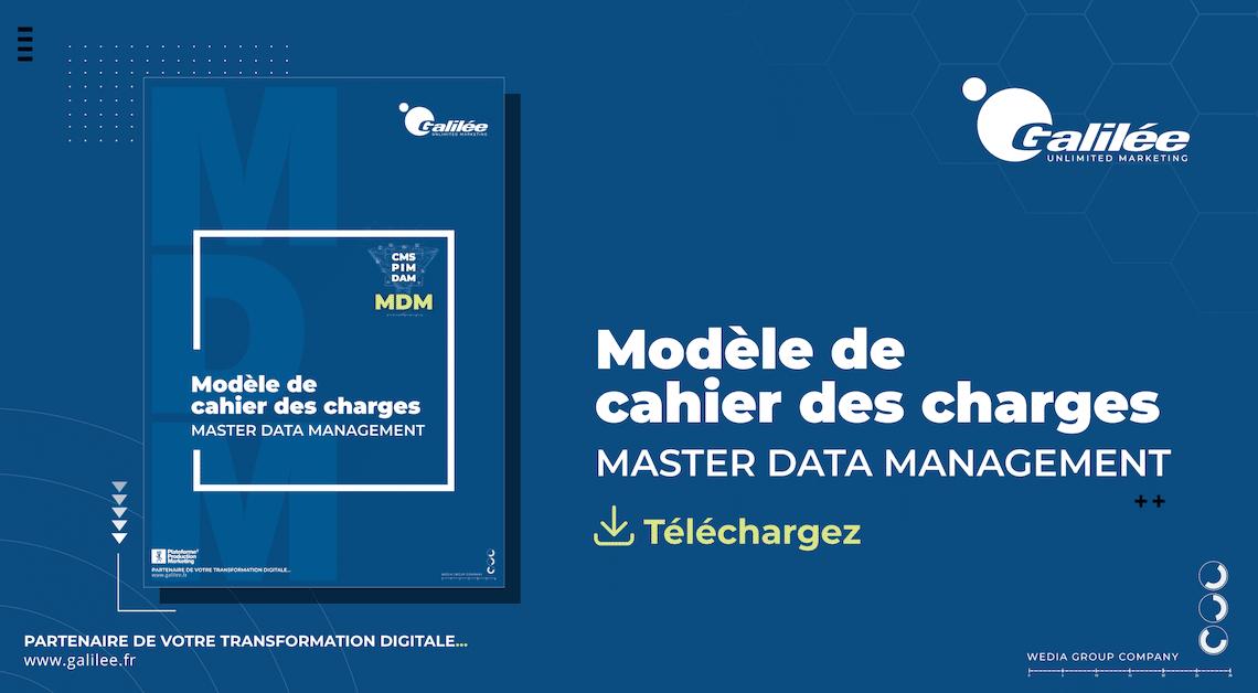 Téléchargez notre modèle de cahier des charges Master Data Management